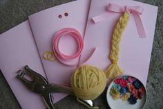 Princess Rapunzel party ideas #invitation
