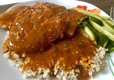 Schab duszony w sosie węgierskim - Blog z apetytem Coleslaw, Meatloaf, Blog, Chicken, Essen, Coleslaw Salad, Blogging, Cabbage Salad, Cubs