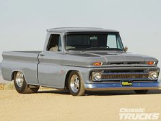 Chevy trucks aficionados are not just after the newer trucks built by Chevrolet. They are also into oldies but goodies trucks that have been magnificently preserved for long years. Chevy Truck Models, 1966 Chevy Truck, Classic Chevy Trucks, Chevy C10, Chevy Pickups, Chevrolet Trucks, Classic Cars, Hot Rod Trucks, Gm Trucks