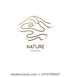 Find Abstract Mountain Landscape Logo Water Wavy stock images in HD and millions of other royalty-free stock photos, illustrations and vectors in the Shutterstock collection. Coffee Shop Branding, Logo Branding, Turismo Logo, Mountain Logos, Logos With Mountains, Airbnb Logo, Landscaping Logo, Massage Logo, Travel Logo