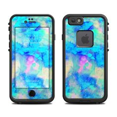 Skin for LifeProof iPhone Case Electrify Ice Blue by by DecalGirl