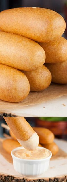 These Homemade Chicken Sausage Corn Dogs from Wishes and Dishes are perfect for a party or even for dinner! The light and fluffy batter is perfectly crispy and full of flavor!