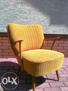 Fotelik muszelka art deco mały stylowy,fotel vintage, prl,Design,klubo Garwolin - image 1