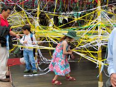 tangled idea may be possible smaller scale for classroom