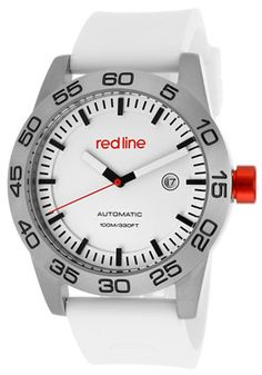 Red Line 50045-02-WH-ST Watch