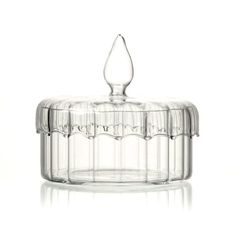 Glass Trinket Jar