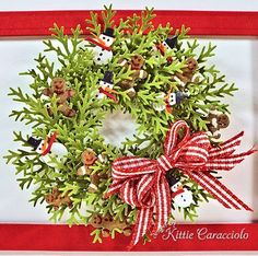 spellbinders build a wreath | of how i make my wreaths in my wreath tutorial