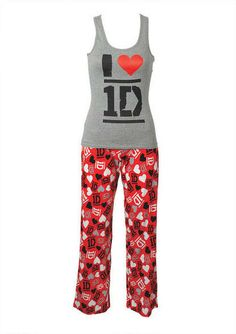 I Heart 1D Set<<< I NEED THIS IN MY CLOSET