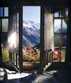 mountains, window view, dreams, the view, switzerland, hous, place, mornings, bedroom windows