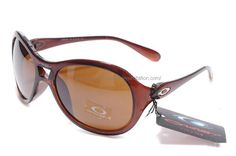 Oakley Vacancy Womens Sunglasses Polished Brown Frame Chocolate Lens