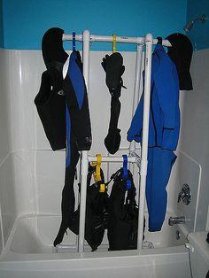 Scuba Drying Rack | by segundo3000gt