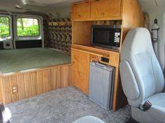 Interior Of Stealth Camper