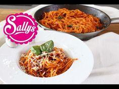 One Pot Spaghetti mit Tomatensoße / Pasta-Gericht in 15 Min. aus einer Pfanne - YouTube