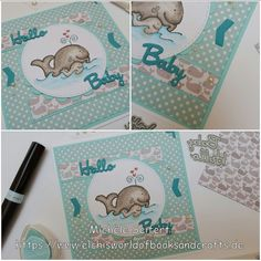 Babykarte | Whipper Snapper - Whale Mother | Card made by Elchi's World of Books & Crafts https://www.elchisworldofbooksandcrafts.de/babykarte-whipper-snapper-mother-whale/
