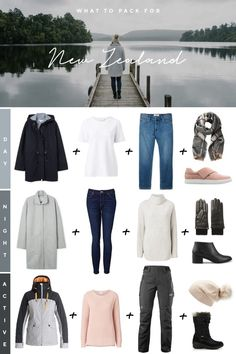 Ultimate New Zealand Packing List for Chic Adventures - Travel Trends Winter Travel Packing, Packing List For Vacation, Travel Capsule, Winter Travel Outfit, Packing Lists, Packing Checklist, Outfit Winter, Packing For New Zealand, New Zealand Travel
