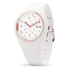 Ice-Watch - ICE cosmos Star White - Women's wristwatch with silicon strap - 016297 (Medium) Trendy Watches, Big Watches, Best Watches For Men, Cool Watches, Wrist Watches, Ice Watch, Armani Watches, Luxury Watches, Cosmos
