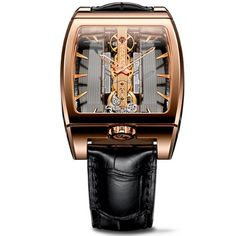 Corum-Golden-Bridge-313165550002-GL10R-38mm-18K-Gold-Case-Brown-Leather-Womens-Watch-0