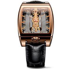Corum-Golden-Bridge-313165550002-GL10R-38mm-18K-Gold-Case-Brown-Leather-Womens-Watch-0