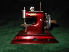 sewing in germany | ... about OLD ANTIQUE CHILDS SEWING MACHINE-MADE IN GERMANY-BRITIS H ZONE