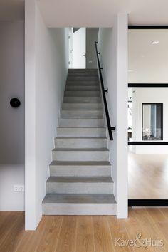 Roscobouw, in harmonie - Eigenhuisbouwen. House Floor Plans, New Homes, Stairs, Flooring, Modern, Home Decor, Park, Homes, Home Plants