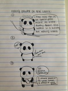 Sad Panda and power outages