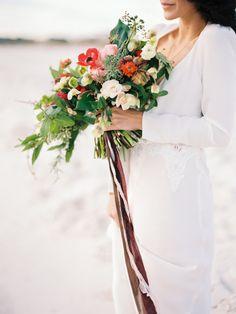Intimate Rustic and Boho Wedding Inspiration | Wedding Sparrow | Lauren Kinsey Photography