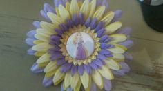 Rapunzel flower clip