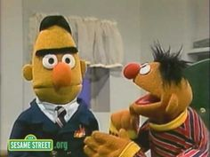 """I'm going to call the Missing Bert Bureau!"""