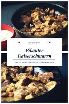 Das traditionsreiche Rezept mal anders: Kaiserschmarrn mit Gemüse und Kräutern. #kaiserschmarrn #rezept
