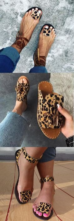 SHOP OFF Comfy Sandals Shoes Picks for Your Daily Outfits.Must Gift her Pair! Cute Sandals, Cute Shoes, Me Too Shoes, Shoes Sandals, Heels, Crazy Shoes, Summer Shoes, Summer Sandals, Fashion Shoes