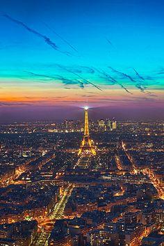 Sunset, Paris