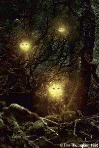 Los Alven holandeses son Elfos de Luz prototípicos. Como observaremos, incluso estos elfos luminosos cometen maldades. Esto nos recordará el carácter extremadamente caprichoso y amoral de todos los Elementales:                             Sus cuerpos son tan etéreos  a nuestros ojos que acostumbramos  a llamarlos invisibles. Pueden viajar por el aire con la misma facilidad que cruzan los ríos y cursos  de agua, flotando suavemente a través de la corriente…