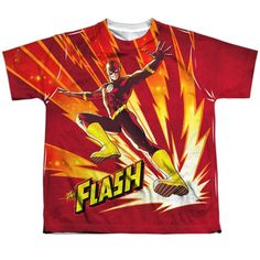 """Checkout our #LicensedGear products FREE SHIPPING + 10% OFF Coupon Code """"Official"""" Jla/lightning Fast-s/s Youth Poly T- Shirt - Jla/lightning Fast-s/s Youth Poly T- Shirt - Price: $24.99. Buy now at https://officiallylicensedgear.com/jla-lightning-fast-s-s-youth-poly-t-shirt-licensed"""