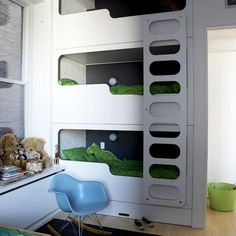 Amazing modern bunks