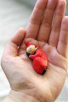 Miniature Little My model by Alicia Sivertsson, 2016.