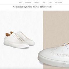Lace up our favourite white trainers for Play Tennis, Scandi Style, Leather Trainers, Driving Shoes, Office Looks, Vegetable Tanned Leather, Italian Leather, Minimalist Fashion, Comfortable Shoes
