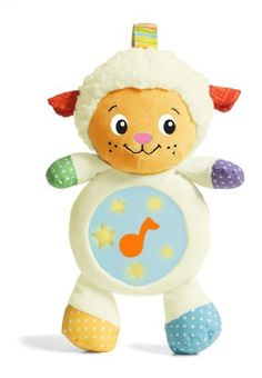 Infantino Crib Companion Soother, Lullabuddy by Infantino. $25.00. From the Manufacturer                Soothing songs and glowing belly make this a perfect crib companion for your lil' lamb. Easily ties to crib. Simple textures and colors.                                    Product Description                Infantino Crib Companion Soother, Lullabuddy