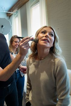 We take you behind the scenes of shoot with partner personalized subscription program. So many pretty outtakes. Mark Consuelos, Celebrity Branding, Kelly Ripa, Brand Ambassador, Celebs, Celebrities, On Set, Celebrity News, Persona