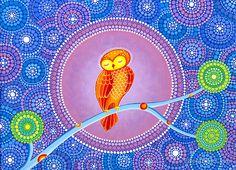 'Owl Goddess Magic' by Elspeth McLean