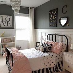 teen girl rooms - dream bedroom decor tips to create a great teen girl bedrooms. Bedroom Decor Suggestion tip pinned on 20181226 Teen Girl Rooms, Teenage Girl Bedrooms, Little Girl Rooms, Kid Bedrooms, Kids Bedroom Ideas For Girls Tween, Tween Girls, Bedroom Girls, Vintage Teen Bedrooms, Bedroom Themes