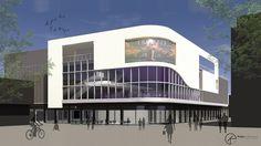 Ontwerp Bioscoop SchalkStad Hoofdwonlelcentrum Schalkwijk Haarlem 1100 stoelen.    #koopenpartners #architecture #architecturelovers #architectureporn #architecturephotograpy  #building #interiordesign #urban #deco #cities #street #bouw #town  #design #art #ontwerp #schalkwijk #nhbioscopen #bam #haarlem