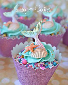 Mermaid cupcakes!