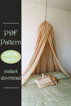 Bed Canopy PDF Tutorial & Details about Bed CORONET Corona BED CANOPY SET inc FRAME u0026 VOILE ...