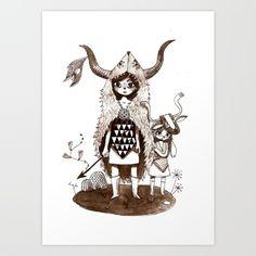 Peau de Rat Art Print
