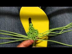 DIY Learn How to Crochet - Flip Flops Sandals Shoes Beach with Beads, Ruffle Yarn, Pom Pom Yarn, Fur - YouTube