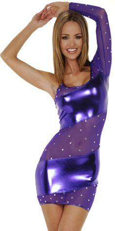 Sexy One Sleeve Dress.