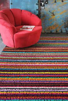 Babson Hand Woven Recycled Rug