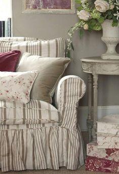 tela-de-rayas-verdes-funda-sofa