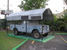 Bob Marley's car, Bob Marley House, Kingston, Jamaica #TheCrazyCities #crazyKingston