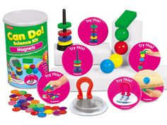 Can Do! Magnets Discovery Kit - Pre K-Gr. 1 at Lakeshore Learning